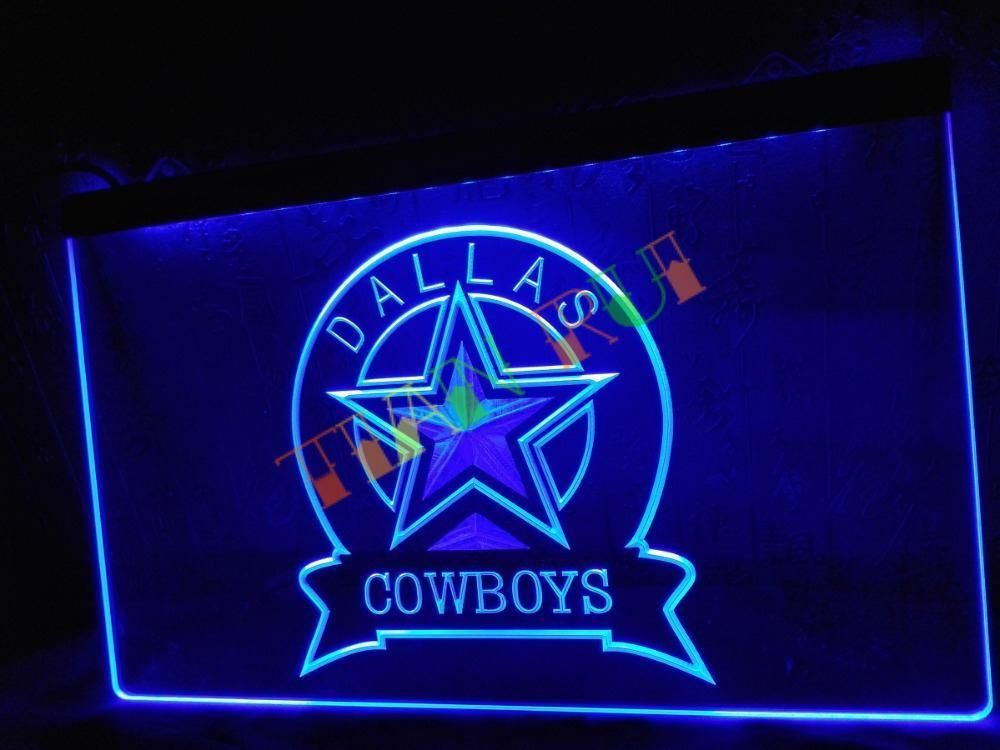 Led Sign Home Decor New Dallas Cowboys Sport Bar Led Neon Light Sign Home Decor Shop Inspiration Design