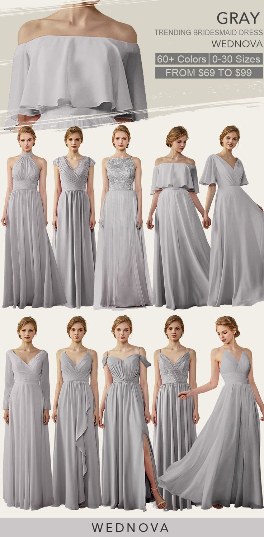 Pin auf Brautjungfernkleidung