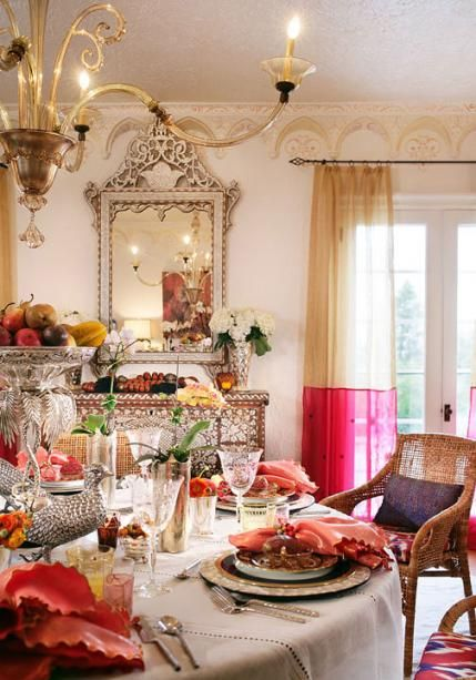 Colorful Moroccan-Inspired Dinner Party, With Recipes ...