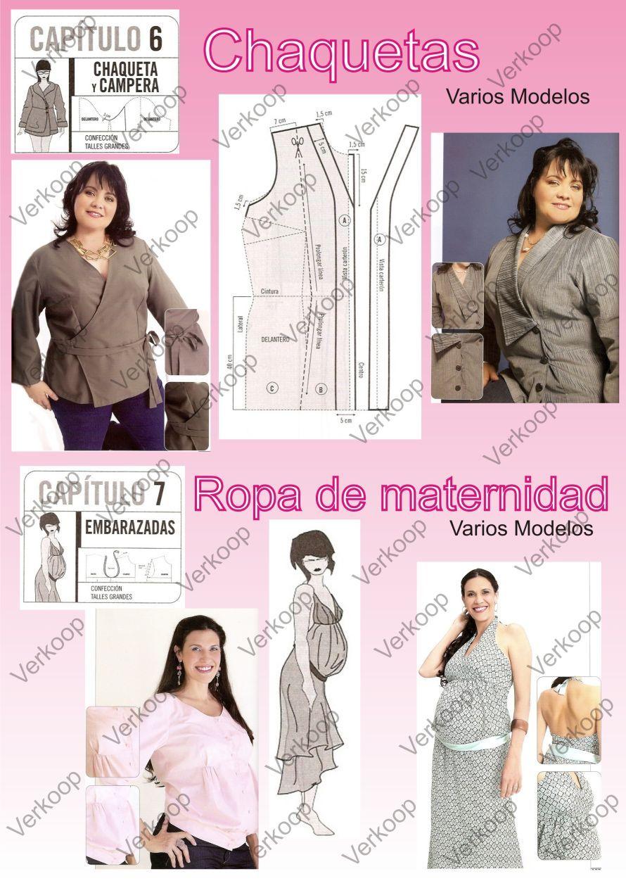 Tallas-grandes5V | sew costura | Pinterest | Ropa, Gorditas y Costura