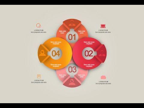 Photoshop Tutorial - Graphic Design Infographic Creative Round ...