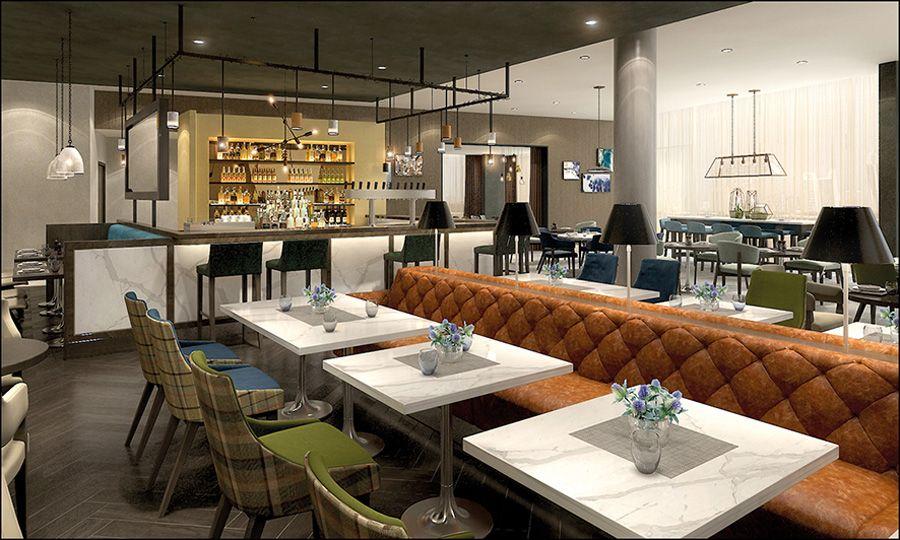Hotel interior design I Restaurant and bar design I Contemporary interior  design I Scottish traditional influence