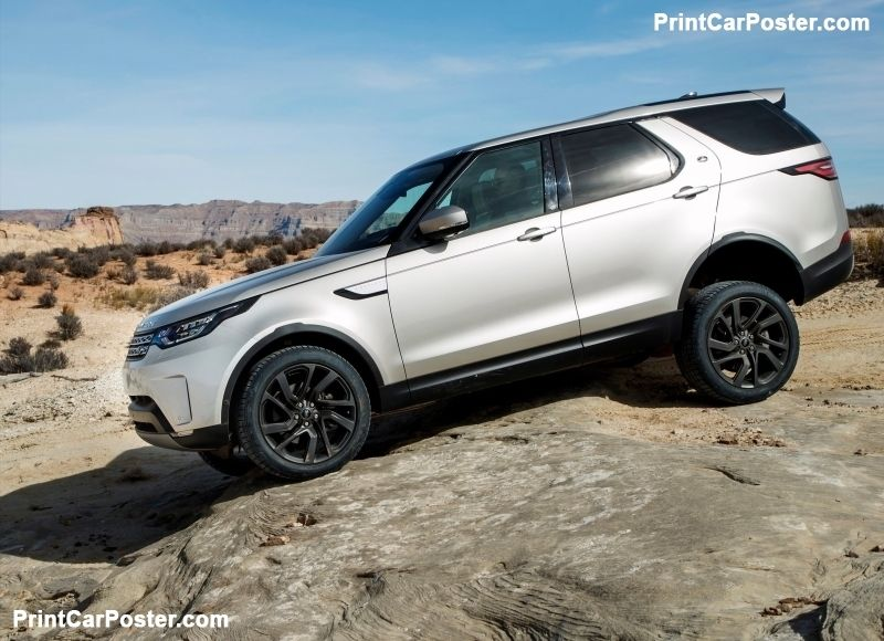Land Rover Discovery Sd4 2017 poster, poster, mousepad