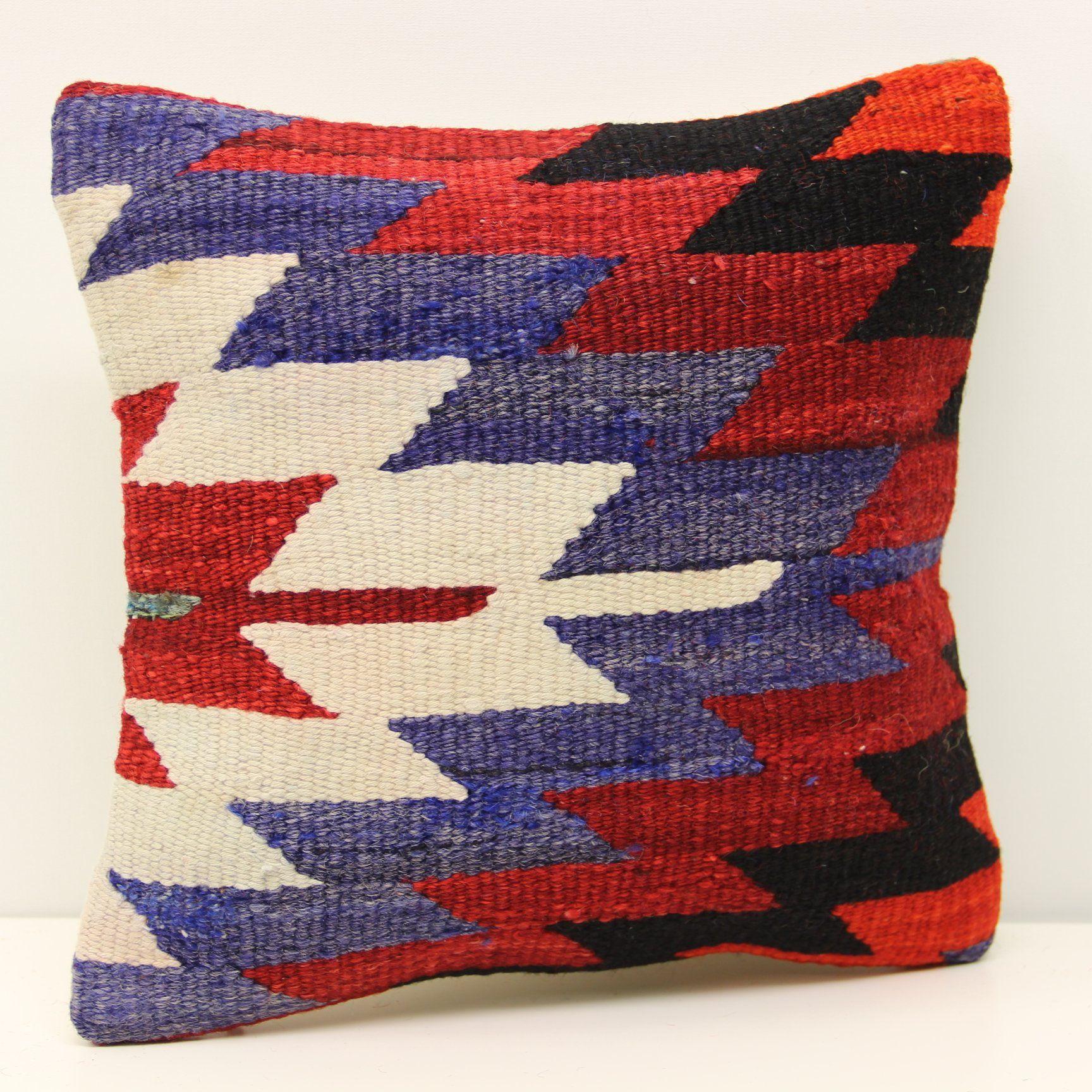 Hand woven pillow cover x inch x cm throw kilim pillow