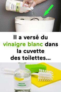 il a vers du vinaigre blanc dans la cuvette des toilettes. Black Bedroom Furniture Sets. Home Design Ideas