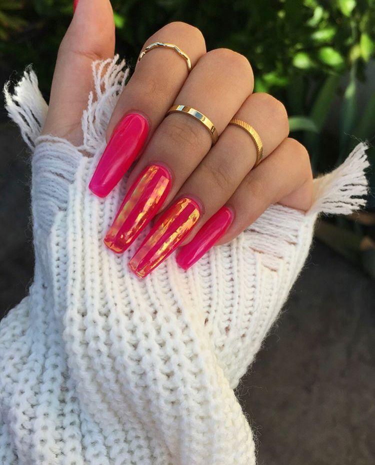 Pin de ☻bella☹ en   Uñas     Pinterest   Diseños de uñas, Unas ...