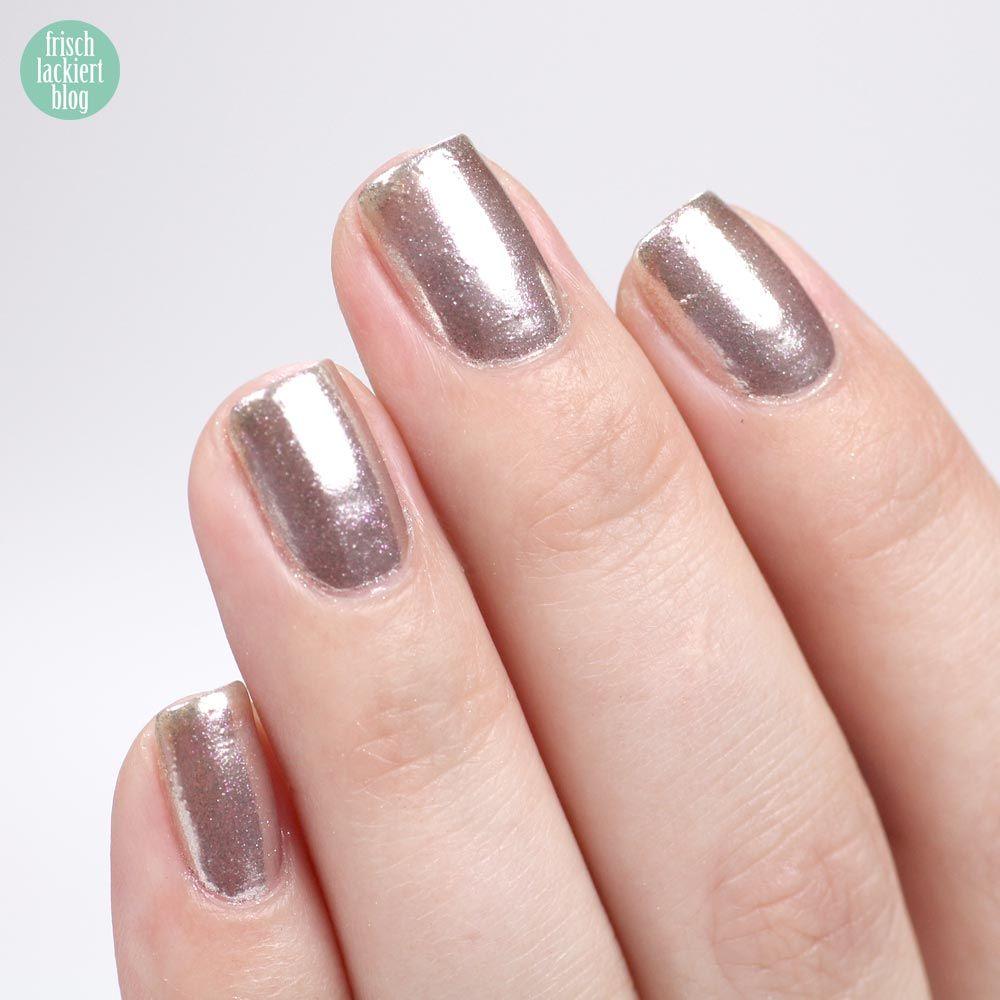 ANNY Mirror Nails – Chrome Nailart Trend – mit Nagellack ohne Gel ...