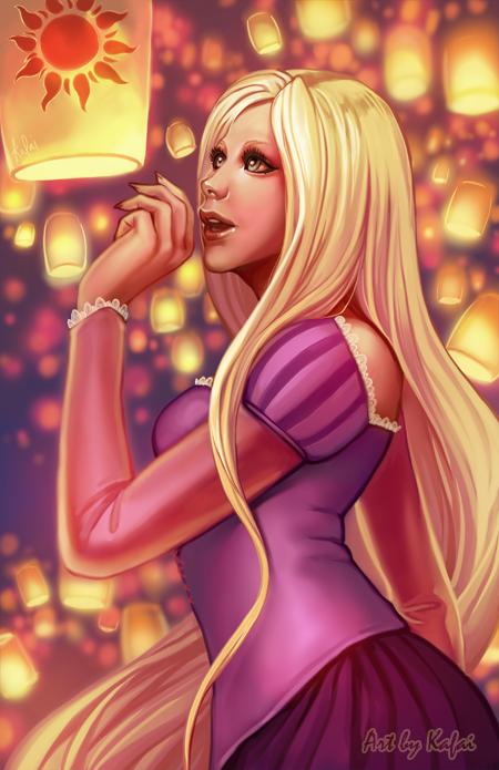 Rapunzel, Tangled, Disney Princess, Disney Fan Art