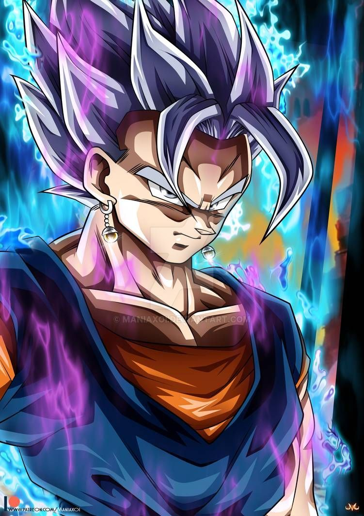 Vegetto UI Mastered by Maniaxoi on DeviantArt