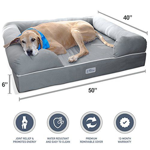 Pin On Dogs Houses Bed Doors And More