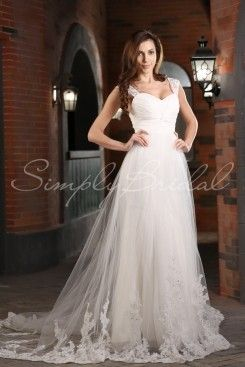 ae874527c69 Wedding Dress by SimplyBridal. Have your cake and eat it too with this  mermaid A