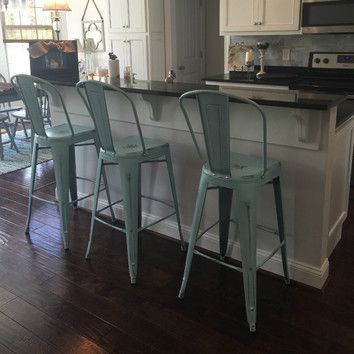 Image Result For Metal Farmhouse Stools Farmhouse Style Bar