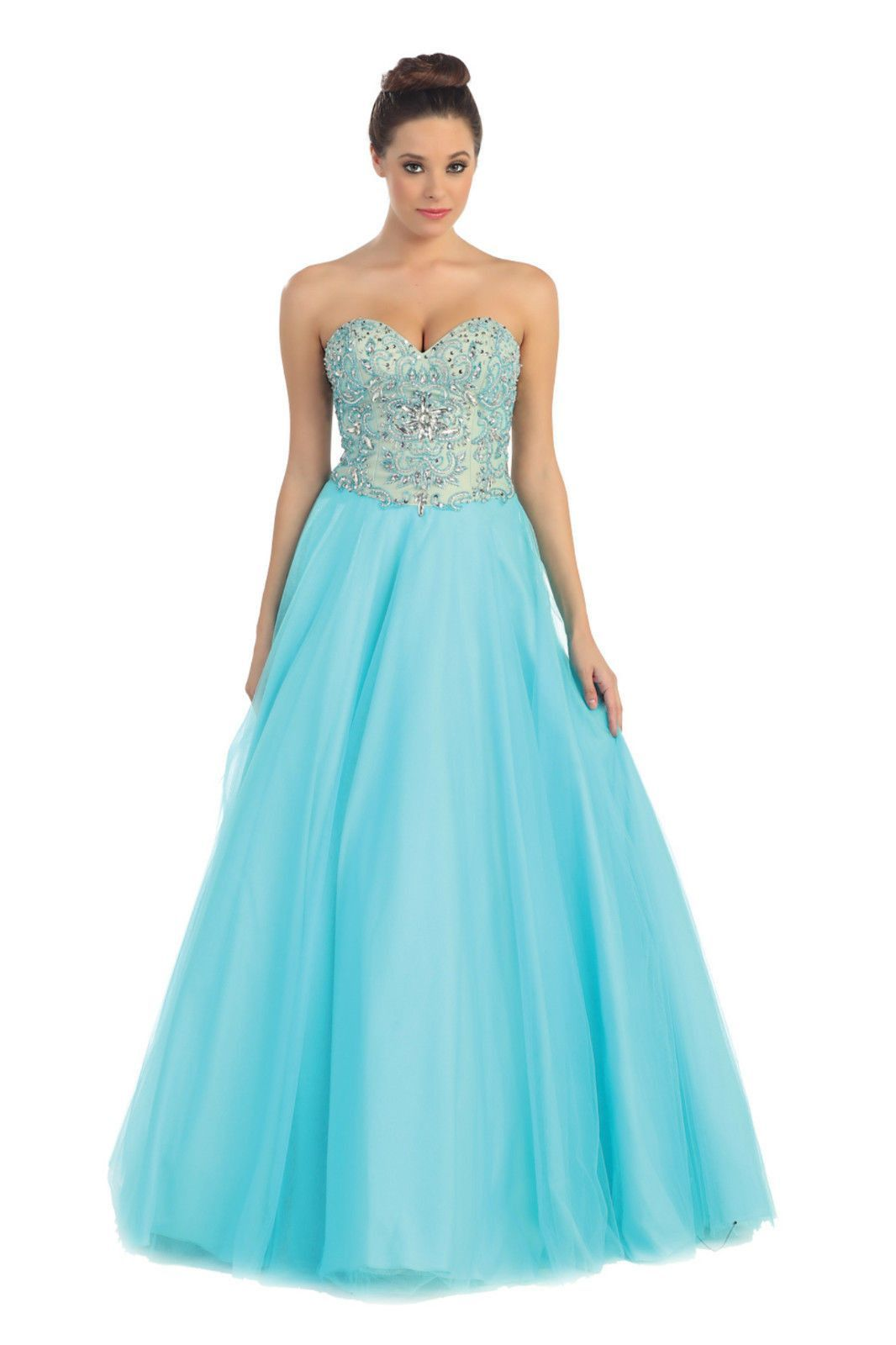 Sweetheart formal quinceanera prom long ball gown mkl pinterest