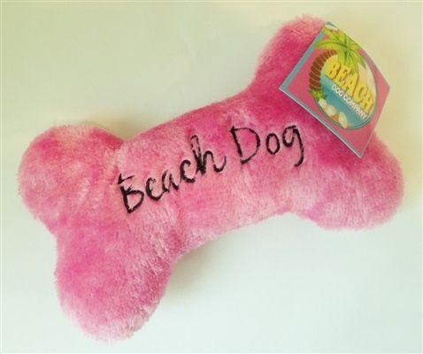 Beach Dog Bone Pink Dog Beach Dog Accesories Big Dog Toys