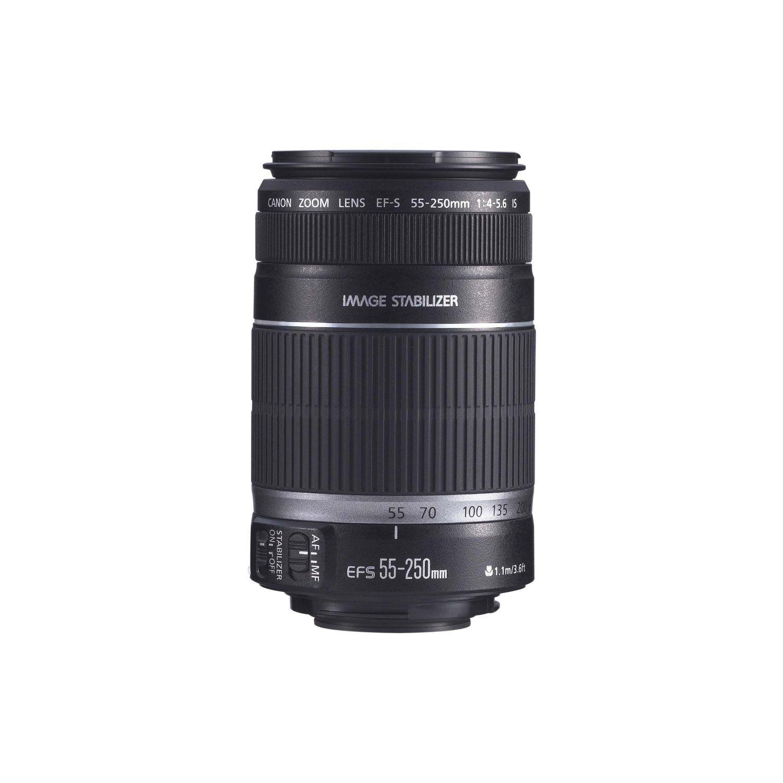 Amazon Com Canon Ef S 55 250mm F 4 0 5 6 Is Telephoto Zoom Lens For Canon Digi Telephoto Zoom Lens Canon Lens Digital Camera
