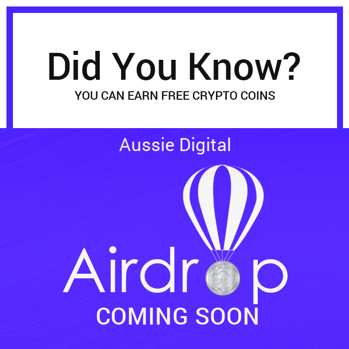 Did you know you can earn free Crypto Coin? @aussie_digital's