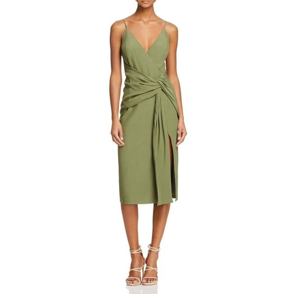 C Meo Collective Interrupt Midi Dress 210 Liked On Polyvore Featuring Dresses