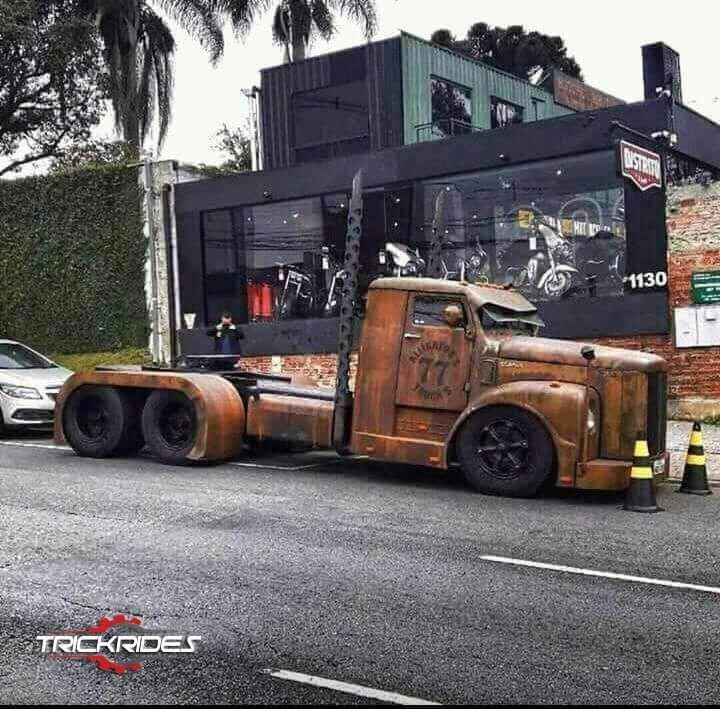 classic rat rod trucks