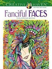Lataa Download CREATIVE HAVEN FANCIFUL FACES COLORING BOOK Epub Mobi Fb2 Pdf E