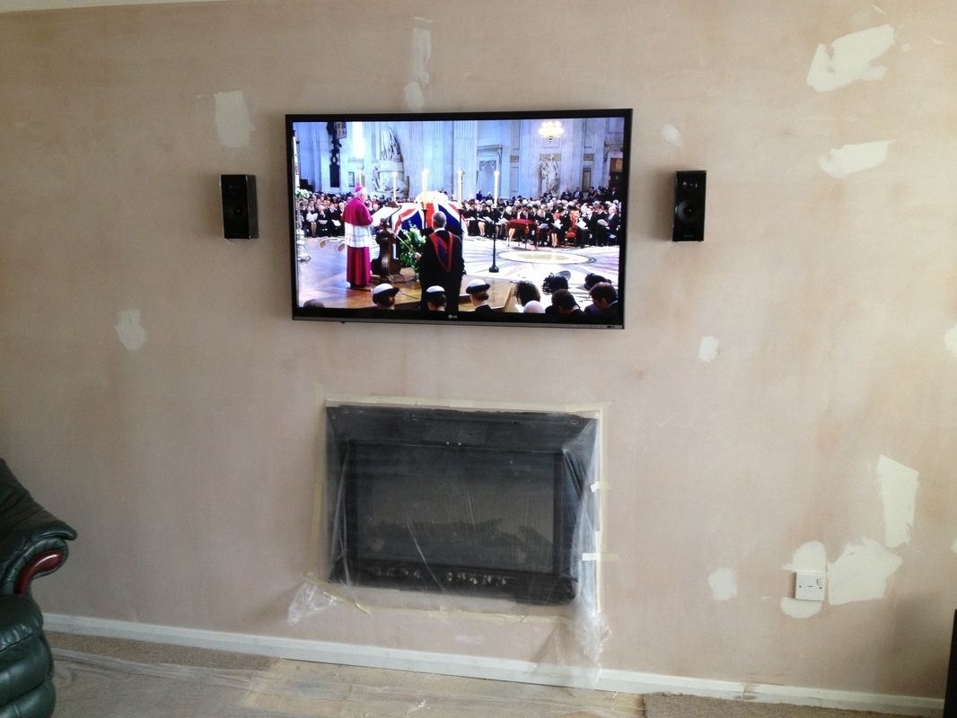 Mounting A Tv To Plaster Wall Plaster Walls Wall Mounted Tv Wall