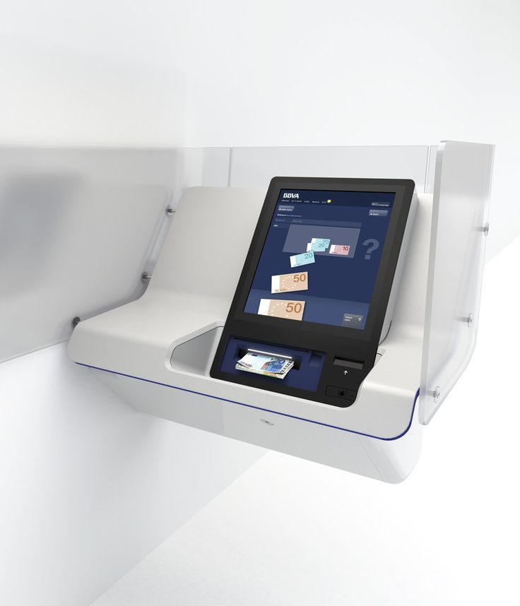 Mobile phone display kiosk design bank design digital