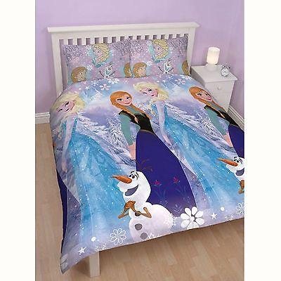 Disney Frozen Double Duvet Cover Bedding Set Doona Duvet Sets Kids Furniture Dresser Duvet Cover Sets
