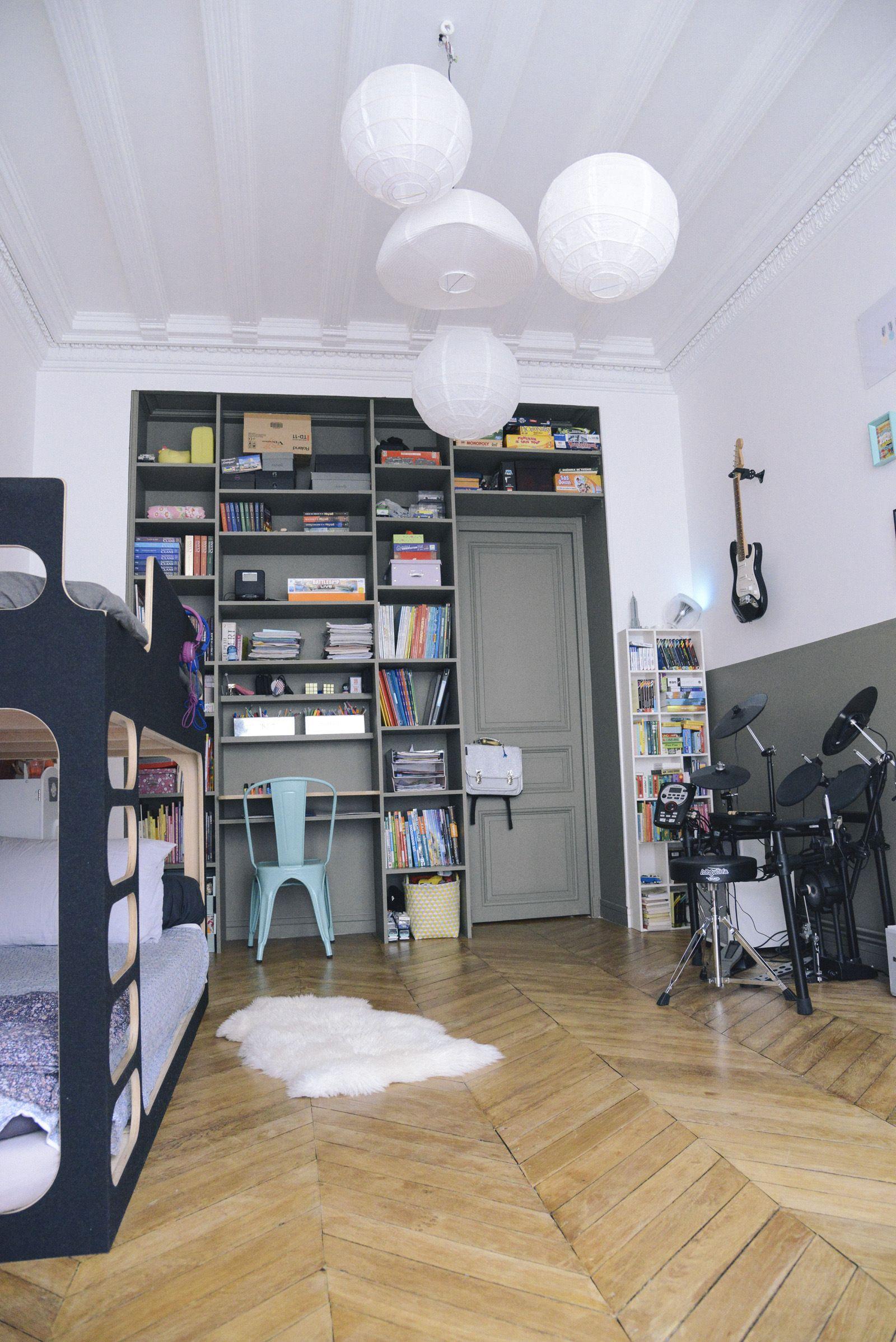 Décoration chambre ado - Rock, musique, kaki  Décoration chambre