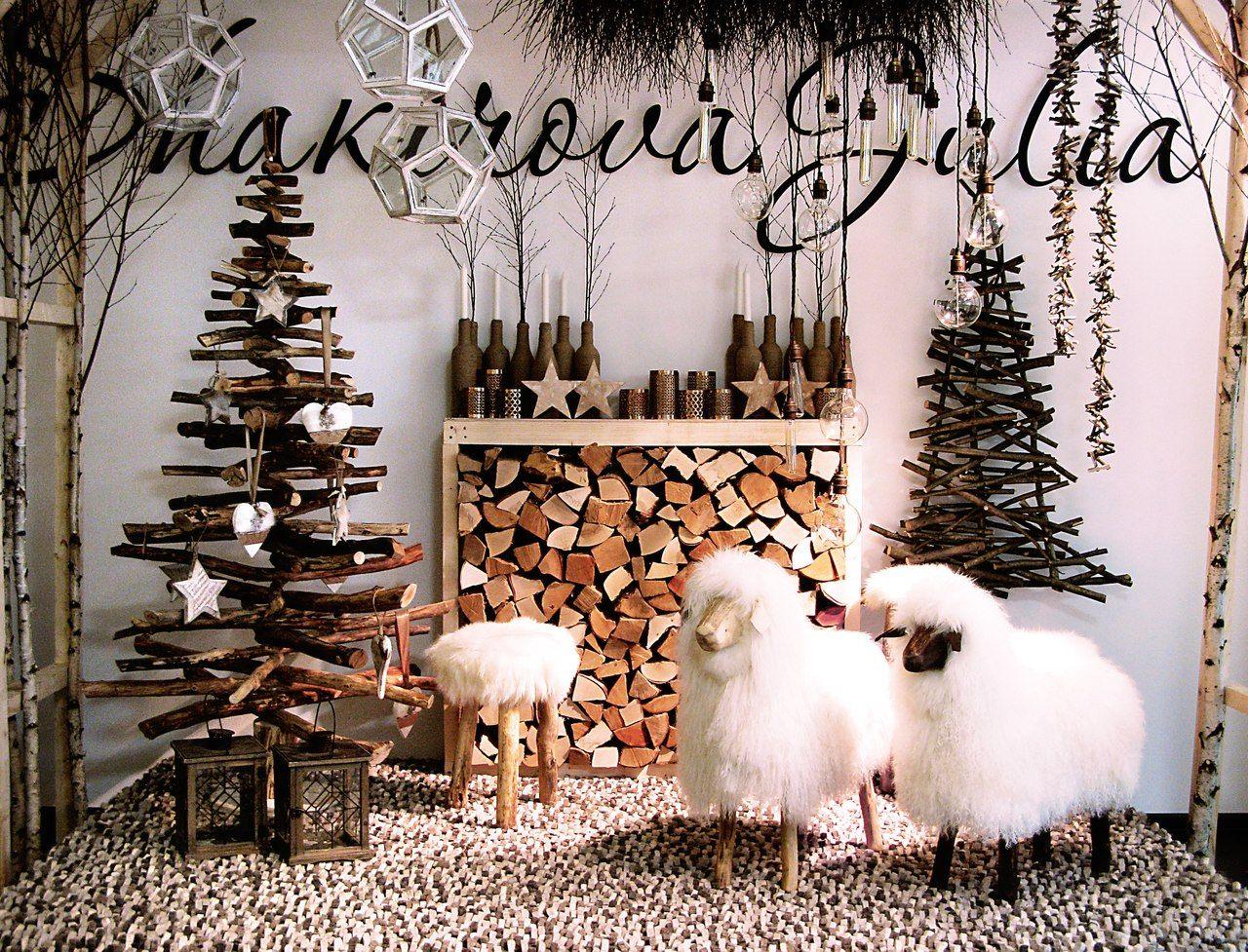 овечки, ёлочки из коряг, табуреточки для Юли Шакировой