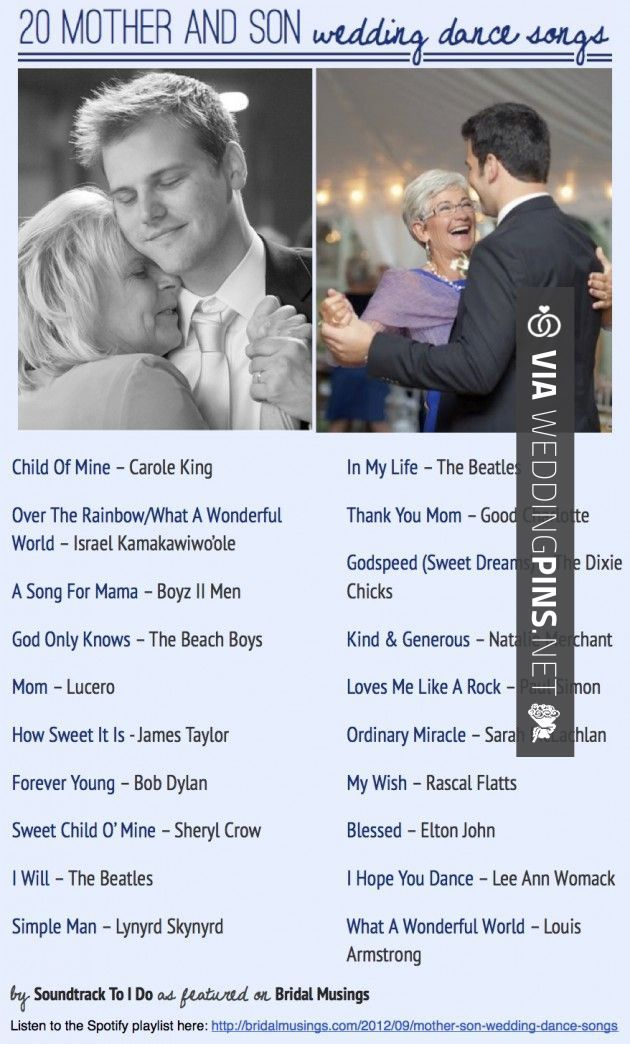 Like this! - Wedding Songs 2016 Mom: Top 20 Best Mother and Son ...