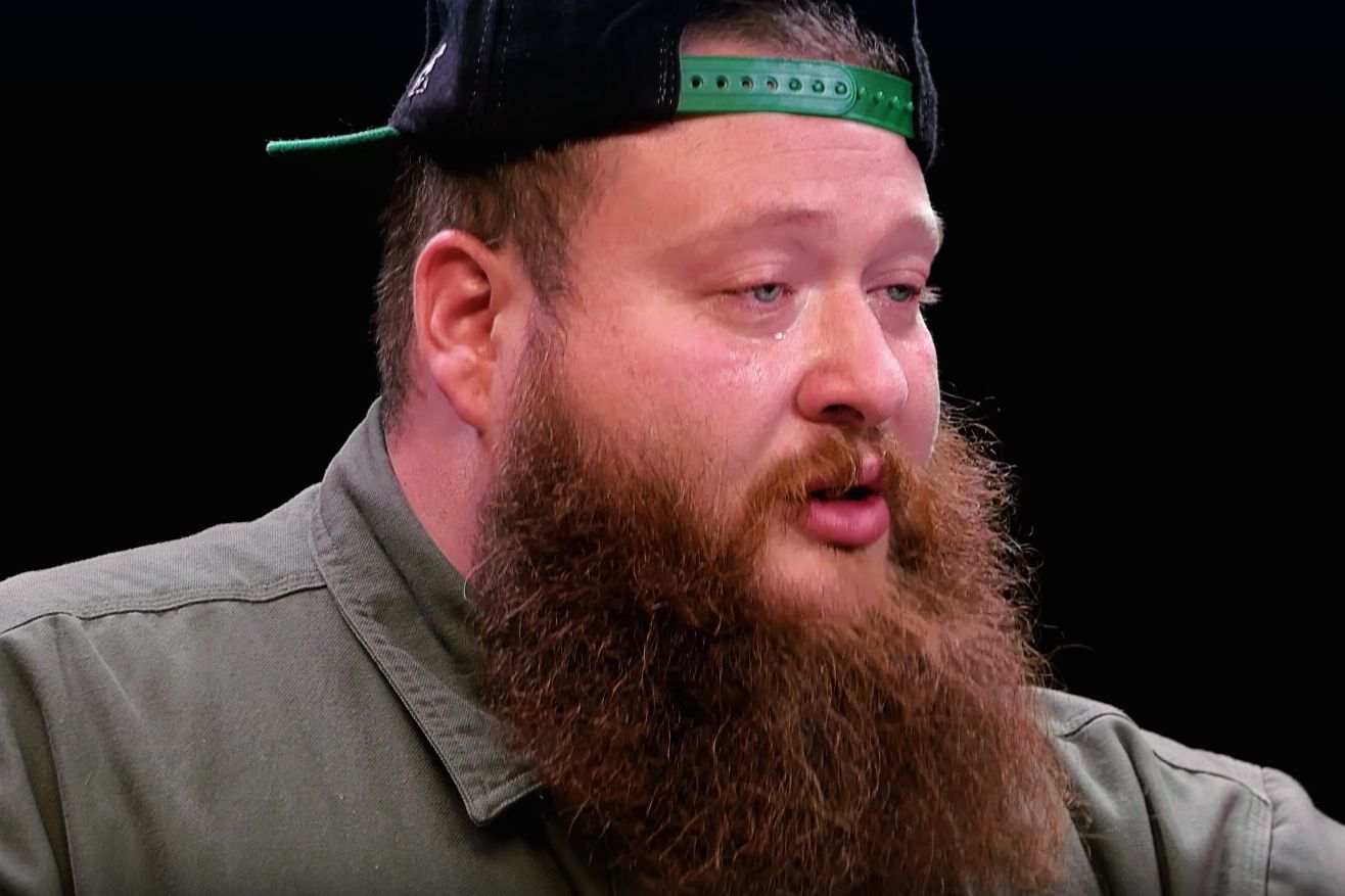 Watch A Teary Eyed Action Bronson Power Through The Hot Ones