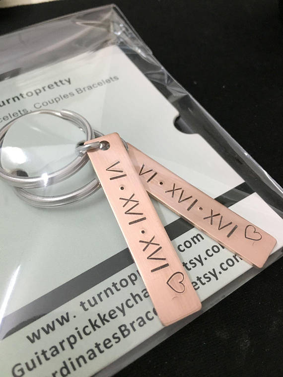 Couples Keychains, Anniversary gift for couples, customized keychain for couples keychain, couples gifts, couples jewelry, couples gifts