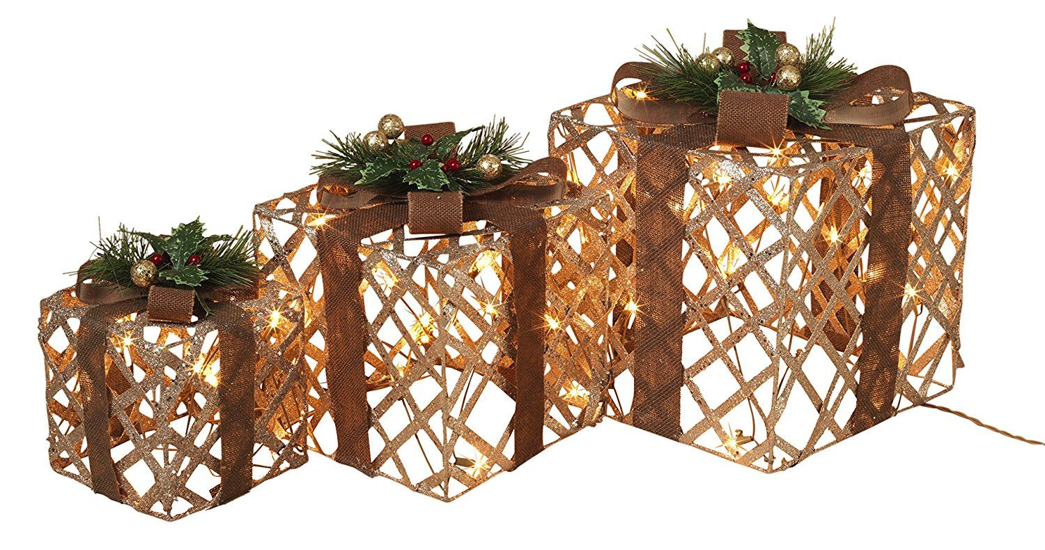 Decorate your home for christmas with our set of 3 large
