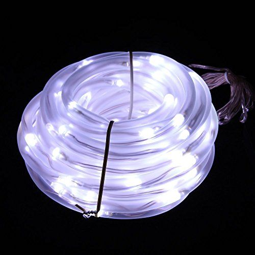 Jzhy 33ft led rgb solar rope lights waterproof 100 leds 12 v jzhy 33ft led rgb solar rope lights waterproof 100 leds 12 v aloadofball Images