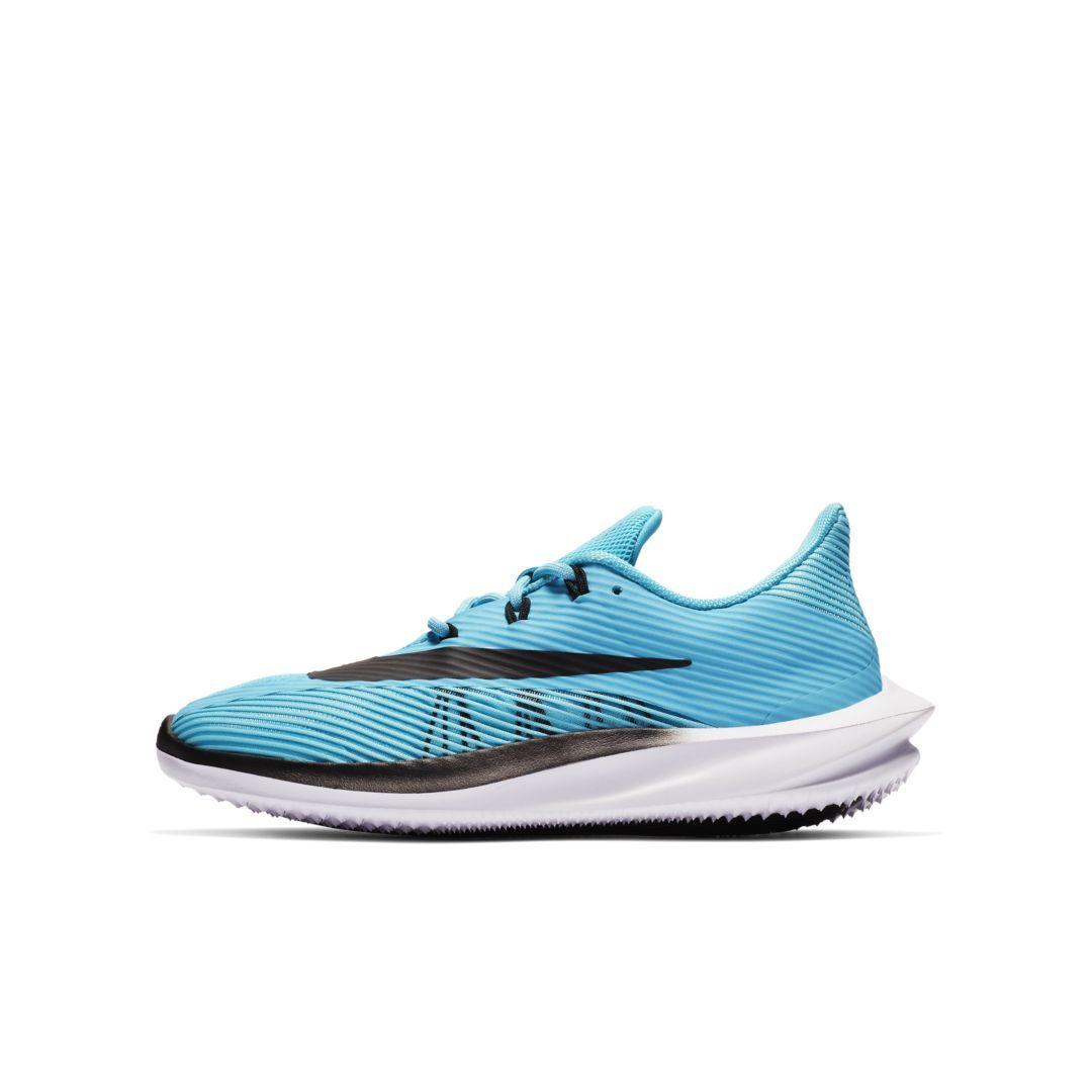 pretty nice 9bf3a 04827 Nike Future Speed Little Big Kids Running Shoe Size 2.5Y (Blue Fury)