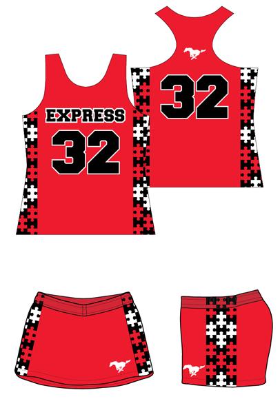 Custom Sublimated Girls Lacrosse Uniform  8c18c43c0