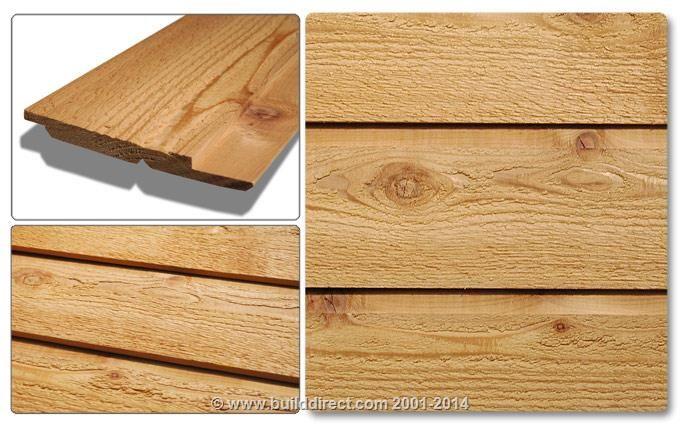 Builddirect Cedar West Red Cedar Half Lifts Wood Siding Siding Builddirect