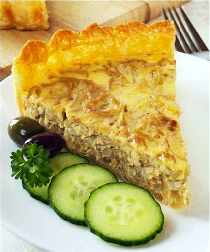 Swiss Inspired Onion Quiche Recipe on Yummly