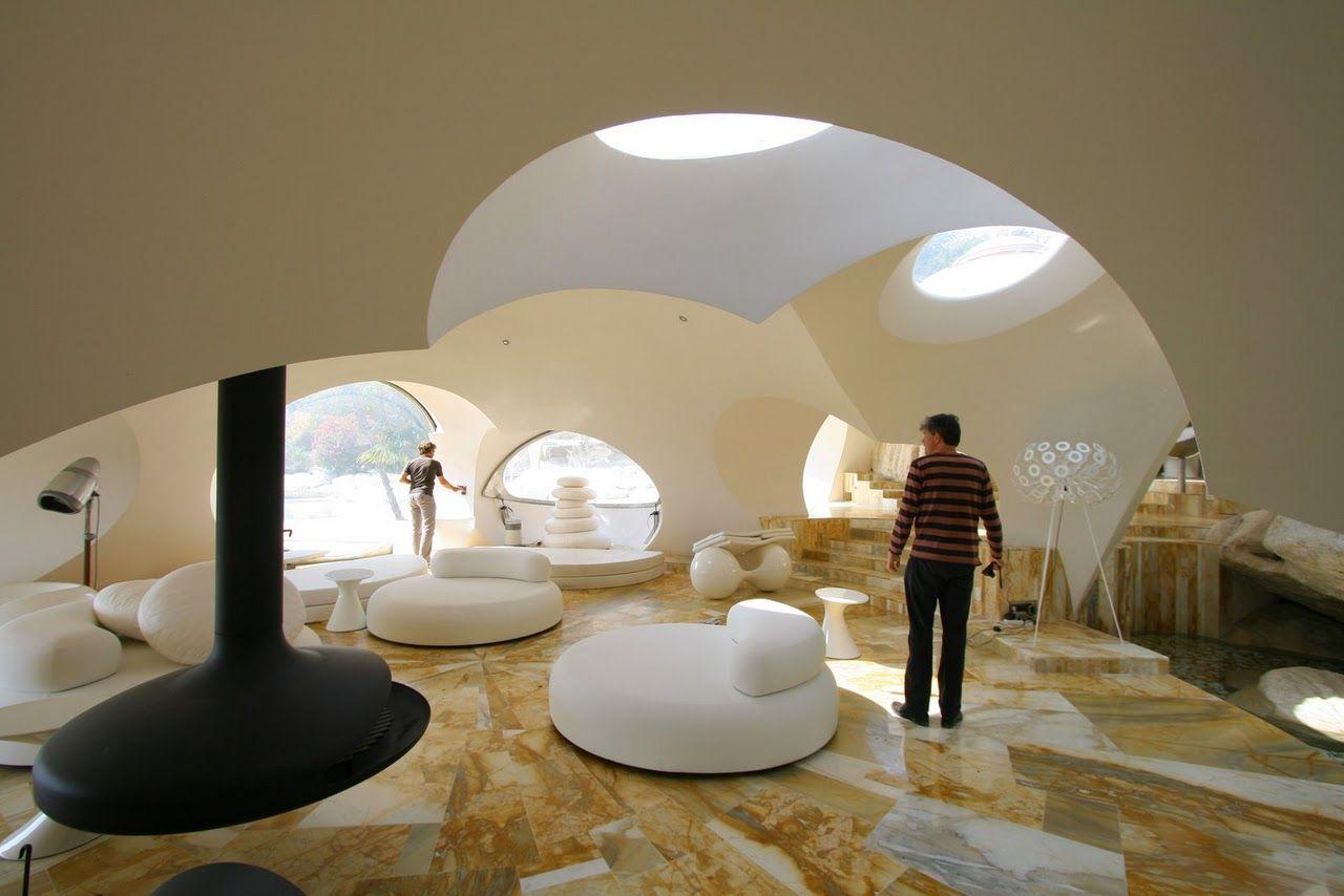 La maison bulle architectural wonders pinterest for Maison en bulle