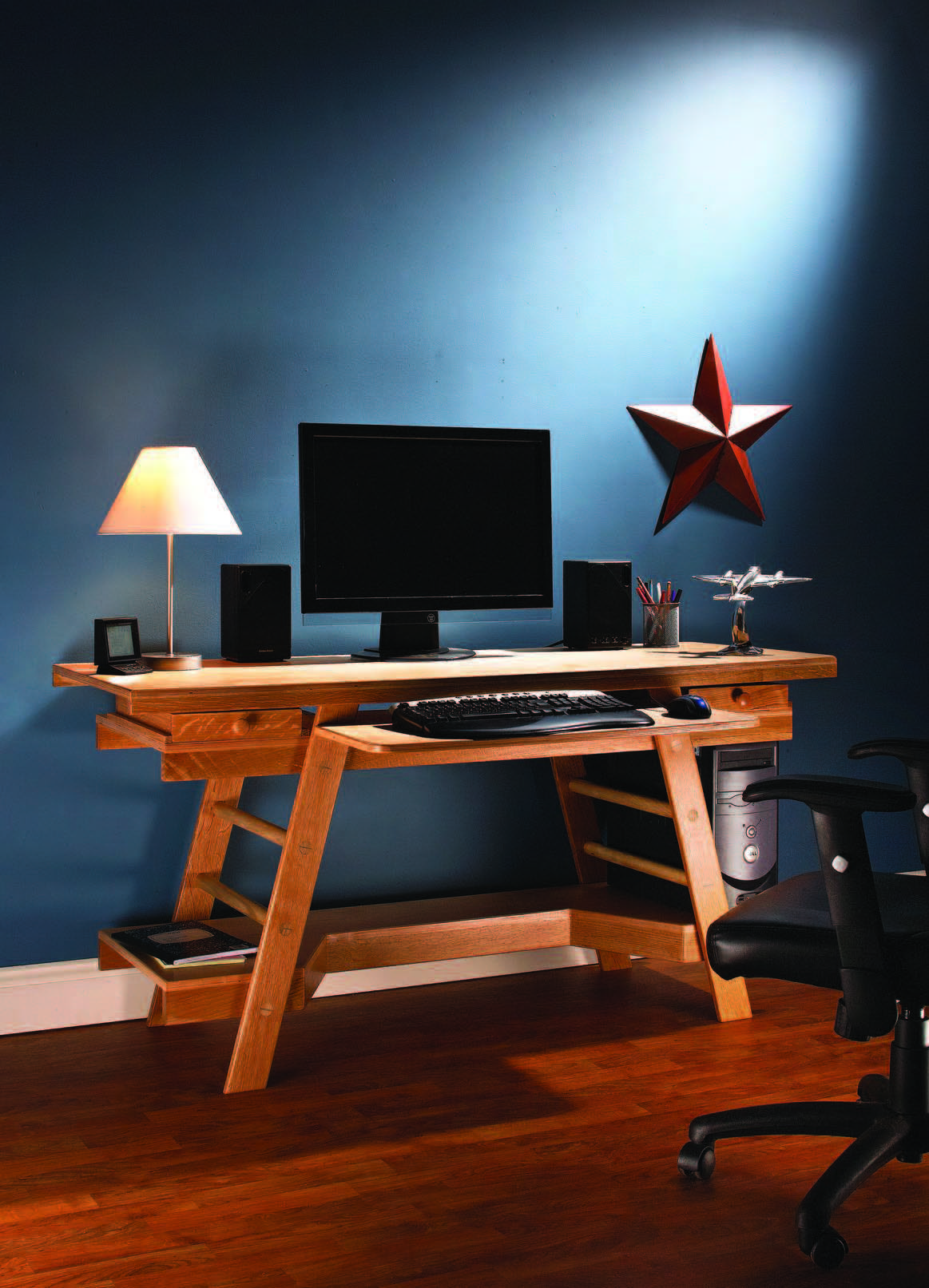 Diy Computer Desk Ideas That Will Fire Up Your Spirit Working From Home Computer Computerdesk Compute With Images Built In Computer Desk Diy Computer Desk Computer Desk