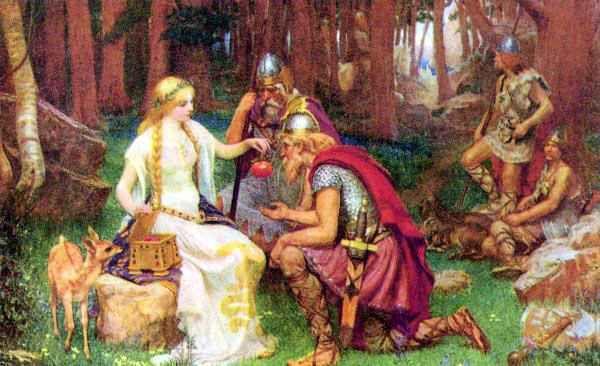 Fae Myths And Legends Norse Goddess Norse Myth Norse Mythology