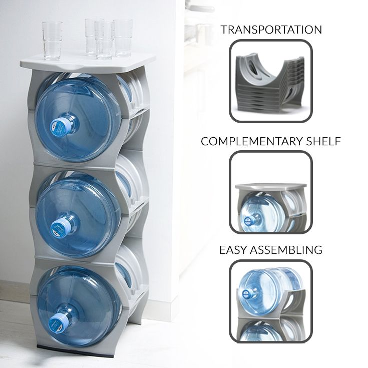 U Stack Water Bottle Stand For 3 And 5 Gallon Water Bottles