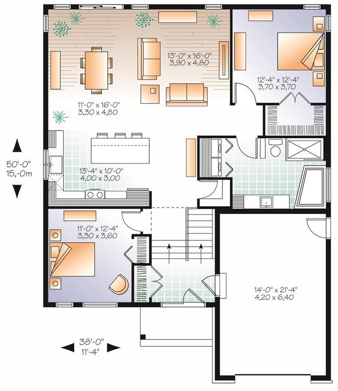 126 1846 Floor Plan Main Level Rustic House Plans House Floor Plans House Plans