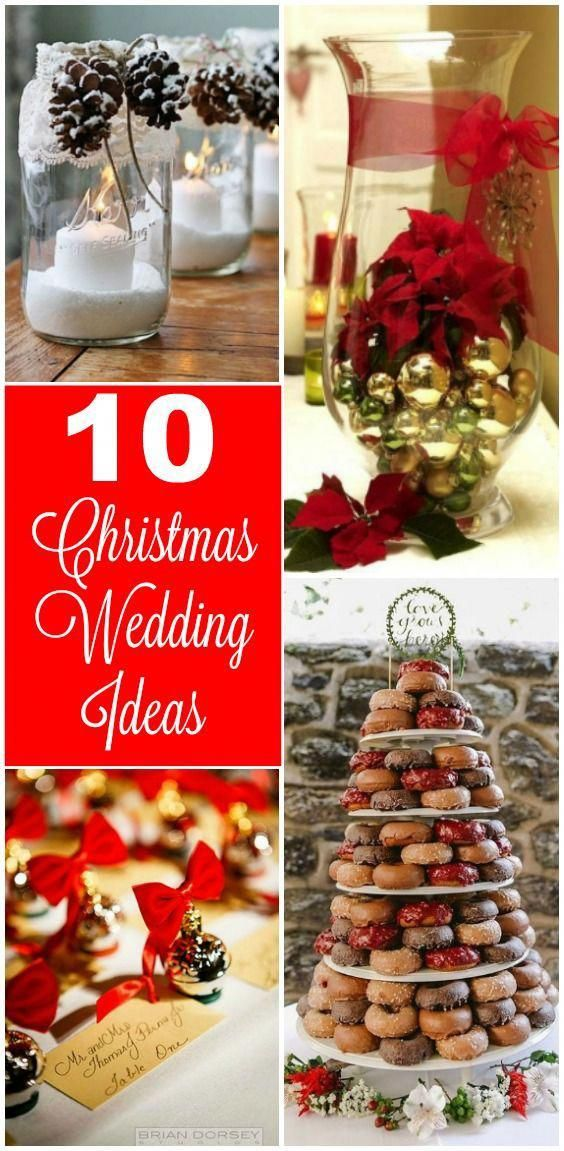 10 Christmas Wedding Ideas You Must Have For Your Winter Wedding