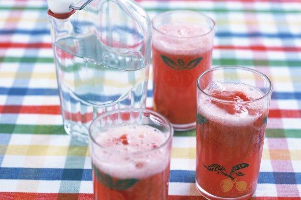 Frozen Fresh Fruit Drink Recipe
