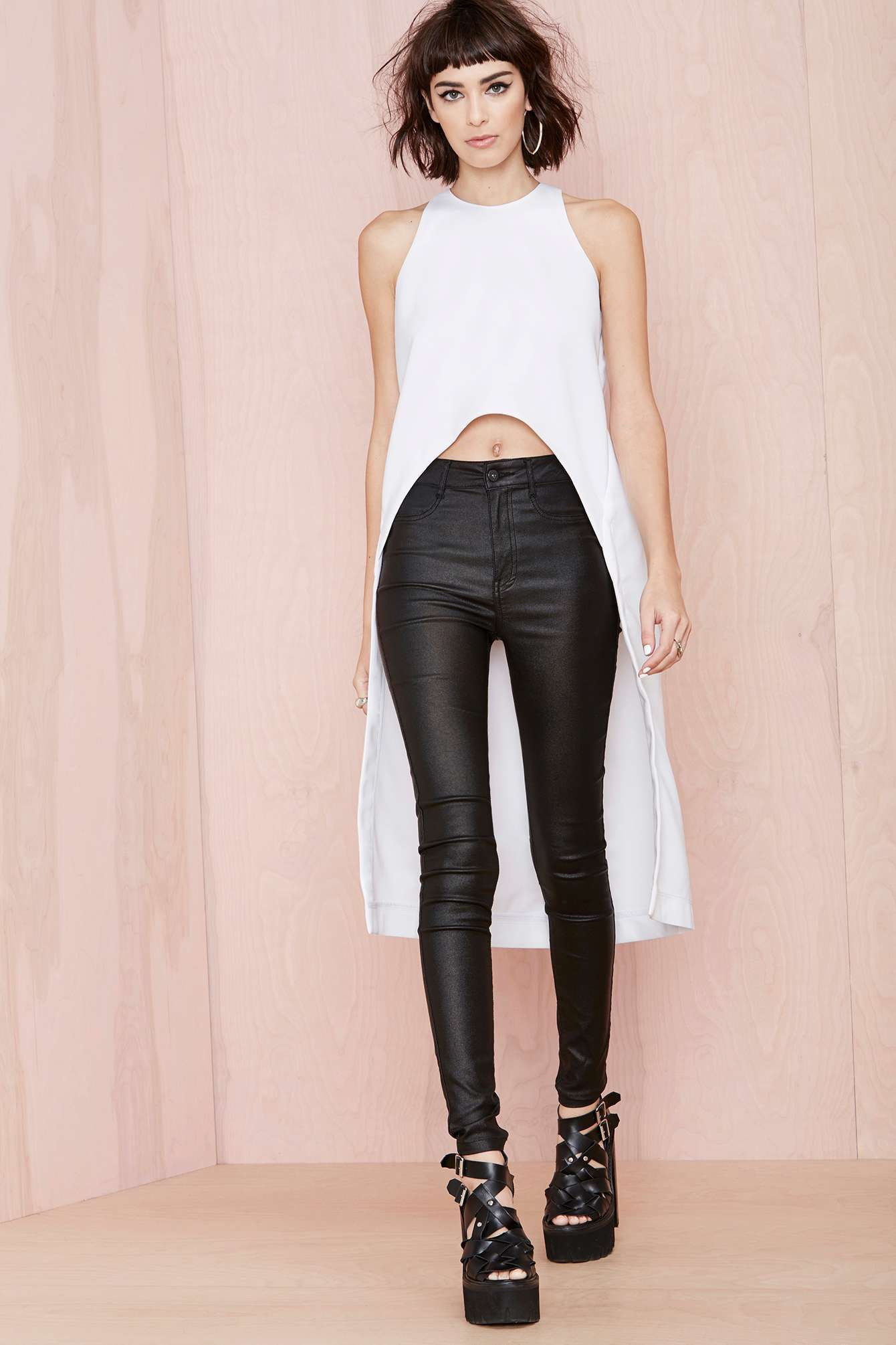 Asilio The Long And Short Of It Top | Shop Play, Girl at Nasty Gal