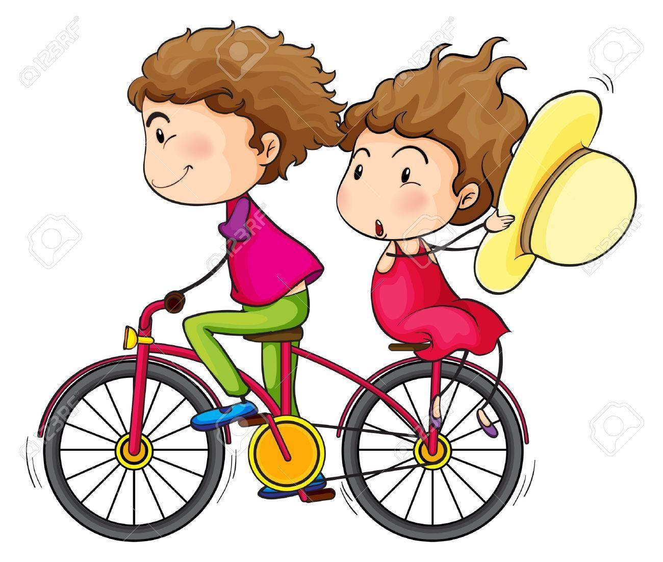 Resultado De Imagen De Corredor De Bici Nino Ninos Caricaturas Bicicletas