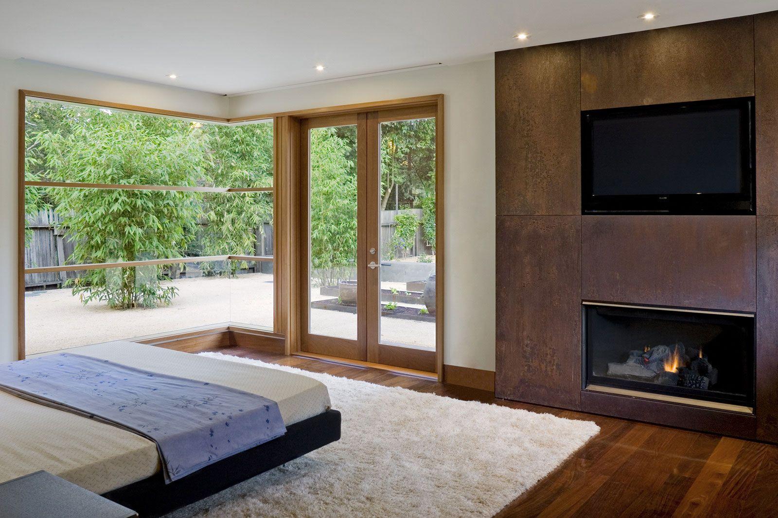 Bedroom Fireplace Design Wheeler Residence Designedwilliam Duff Architects