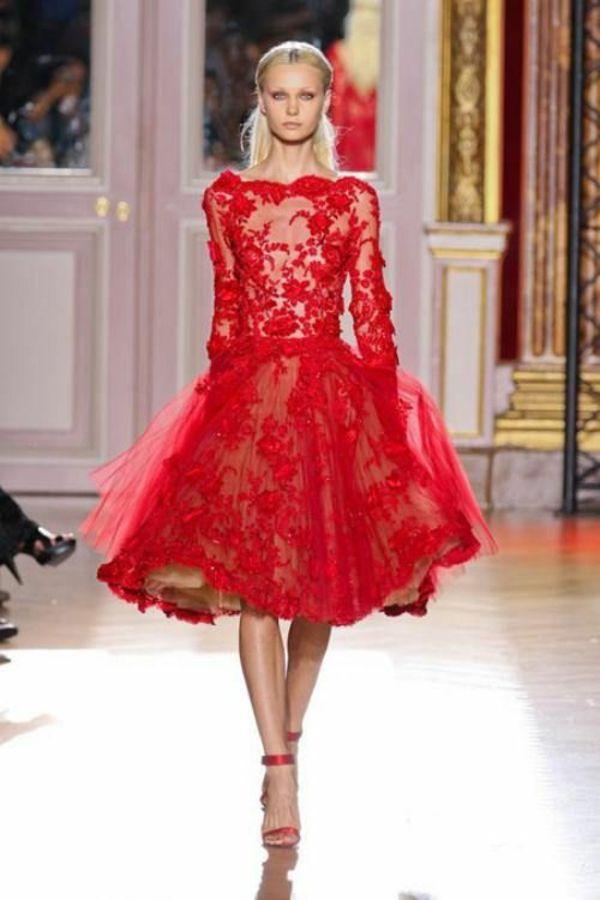 Rotes Kleid kaufen: welche Frauen tragen gern Rot? | Kleid kaufen ...