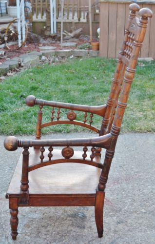 19th Century STICKLEY BROTHERS CO Victorian Chair Restoration Repair