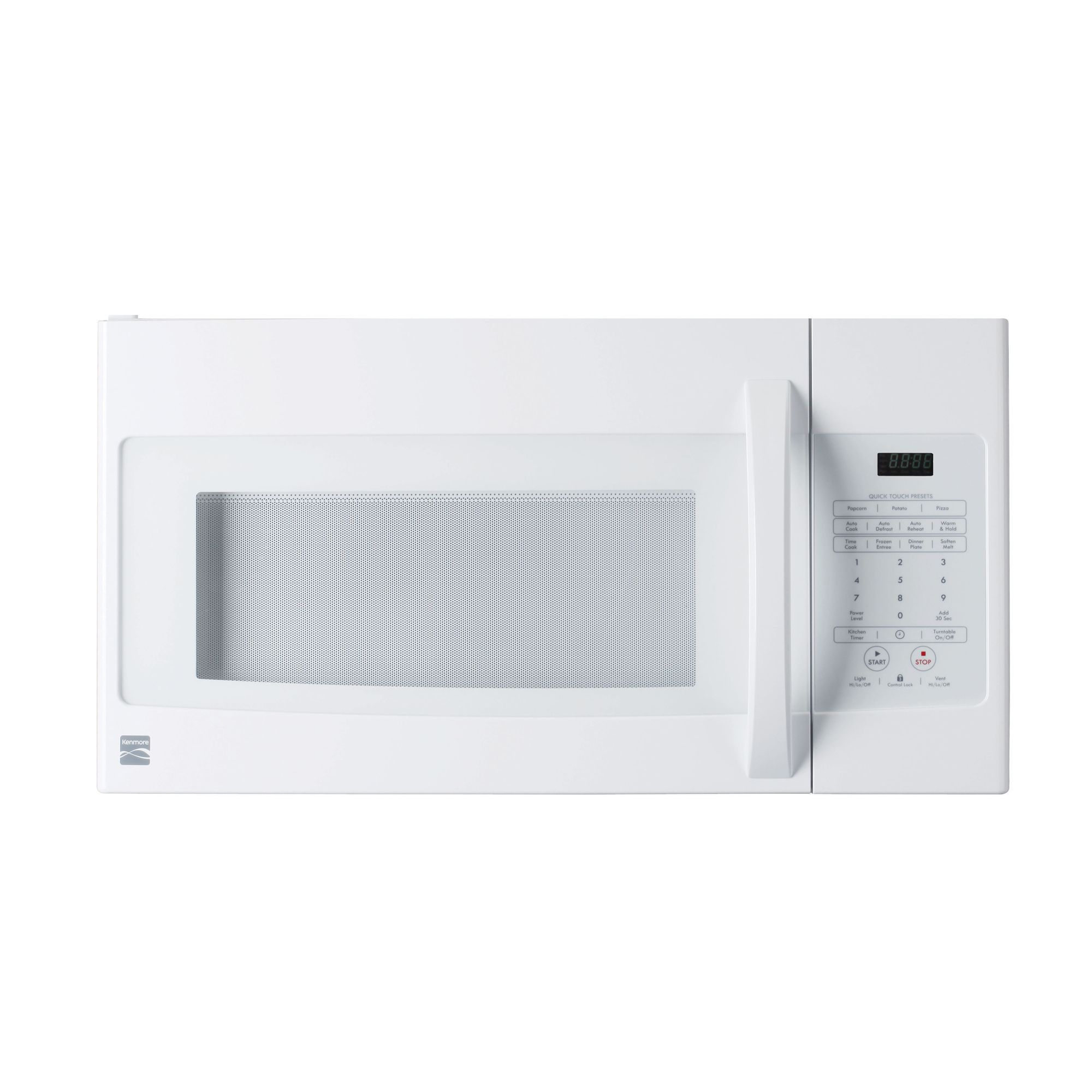 kenmore over the range microwave 1 6 cu